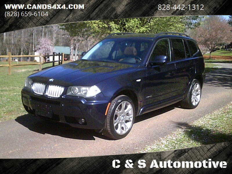 2010 BMW X3 for sale at C & S Automotive in Nebo NC
