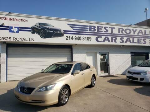 2007 Lexus ES 350 for sale at Best Royal Car Sales in Dallas TX