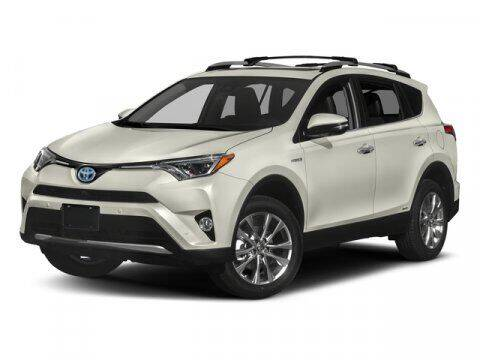 2018 Toyota RAV4 Hybrid for sale at HILAND TOYOTA in Moline IL