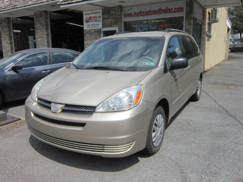 2005 Toyota Sienna for sale at Marks Automotive Inc. in Nazareth PA