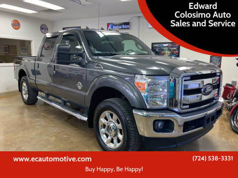 2015 Ford F-250 Super Duty for sale at Edward Colosimo Auto Sales and Service in Evans City PA