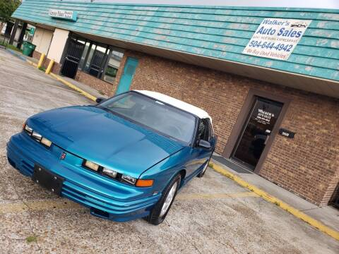 1994 Oldsmobile Cutlass for sale at Walker Auto Sales and Towing in Marrero LA