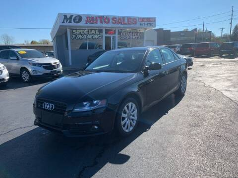 2012 Audi A4 for sale at Mo Auto Sales in Fairfield OH