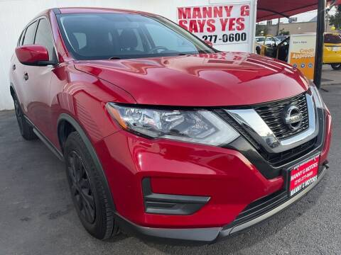2017 Nissan Rogue for sale at Manny G Motors in San Antonio TX