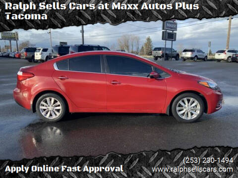 2014 Kia Forte for sale at Ralph Sells Cars at Maxx Autos Plus Tacoma in Tacoma WA