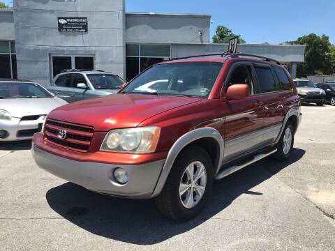 2002 Toyota Highlander for sale at Popular Imports Auto Sales in Gainesville FL