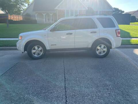 2008 Ford Escape for sale at BJR AUTO SALES in Wylie TX
