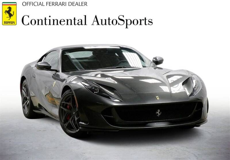 2020 Ferrari 812 Superfast for sale at CONTINENTAL AUTO SPORTS in Hinsdale IL