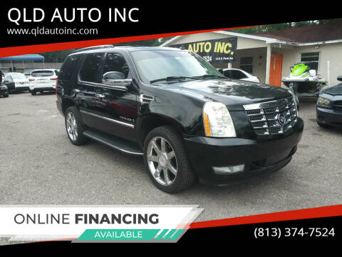 2008 Cadillac Escalade for sale at QLD AUTO INC in Tampa FL