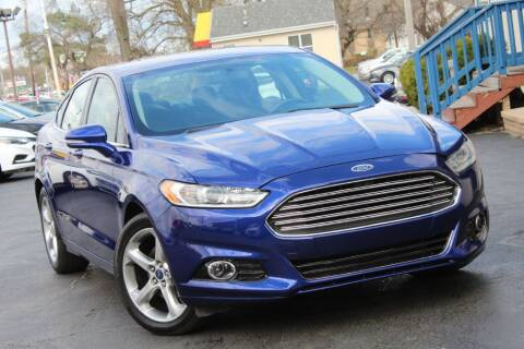 2015 Ford Fusion for sale at Dynamics Auto Sale in Highland IN