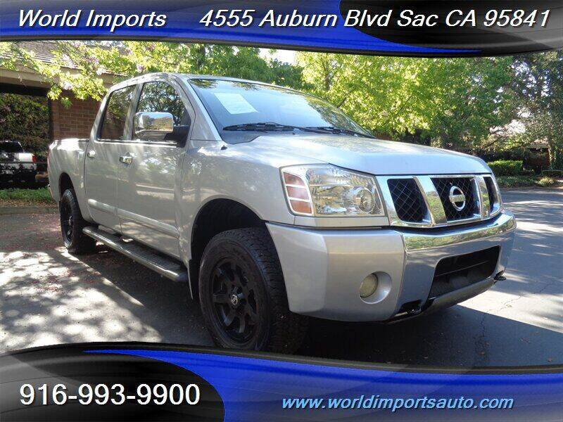 2004 Nissan Titan for sale at World Imports in Sacramento CA