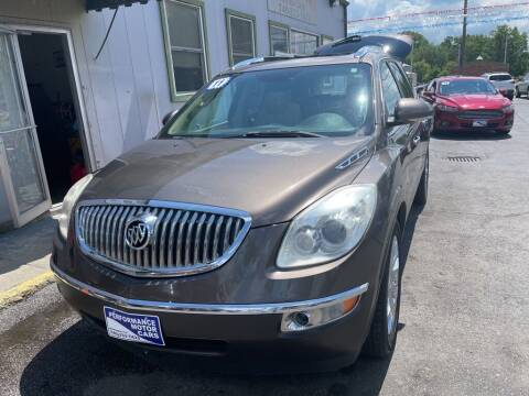 2011 Buick Enclave for sale at Performance Motor Cars in Washington Court House OH