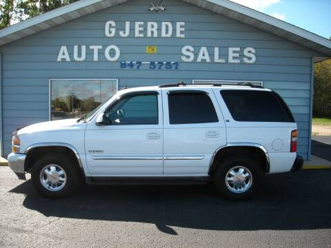 2003 GMC Yukon for sale at GJERDE AUTO SALES in Detroit Lakes MN