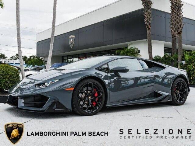 2018 Lamborghini Huracan LP 580-2