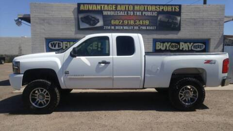 2008 Chevrolet Silverado 1500 for sale at Advantage Motorsports Plus in Phoenix AZ