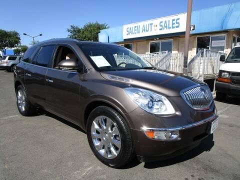 2011 Buick Enclave for sale at Salem Auto Sales in Sacramento CA