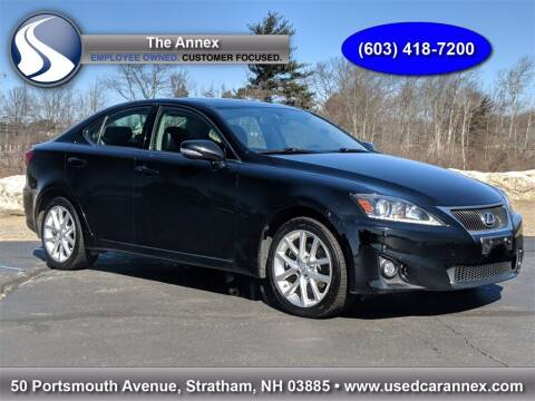 2013 Lexus IS 250 for sale at The Annex in Stratham NH