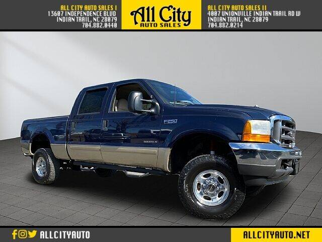2001 Ford F-250 Super Duty for sale at All City Auto Sales in Indian Trail NC