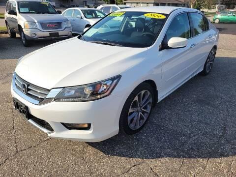 2014 Honda Accord for sale at River Motors in Portage WI