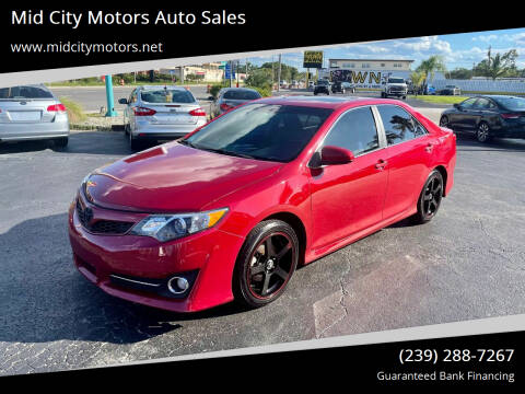 2012 Toyota Camry for sale at Mid City Motors Auto Sales in Fort Myers FL