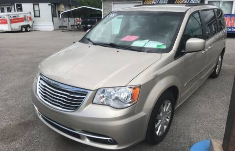 2013 Chrysler Town and Country for sale at RACEN AUTO SALES LLC in Buckhannon WV