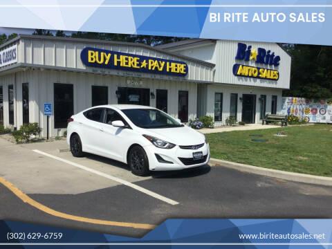 2016 Hyundai Elantra for sale at Bi Rite Auto Sales in Seaford DE