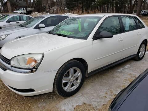 2005 Chevrolet Malibu Maxx for sale at Northwoods Auto & Truck Sales in Machesney Park IL