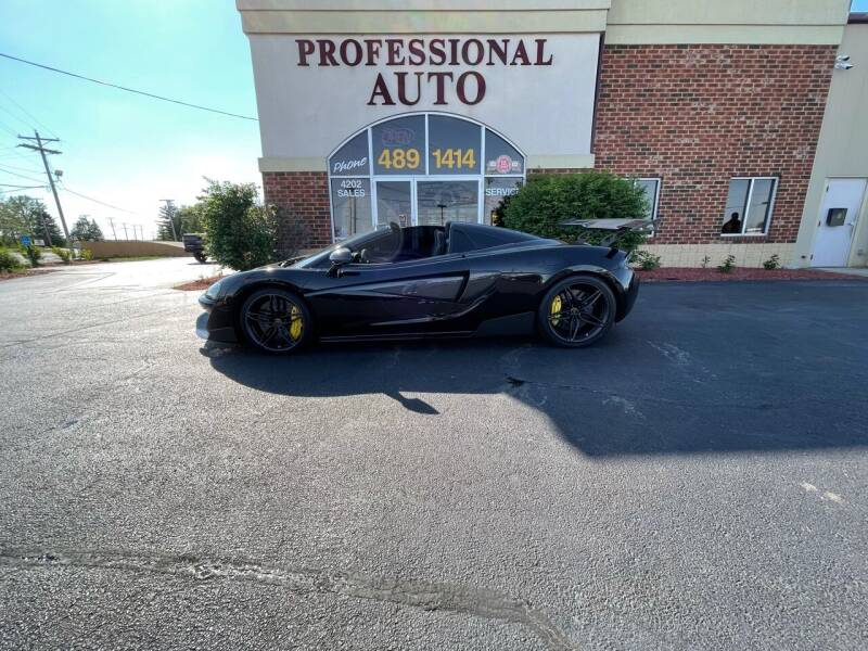 2019 McLaren 570S Spider for sale at Professional Auto Sales & Service in Fort Wayne IN