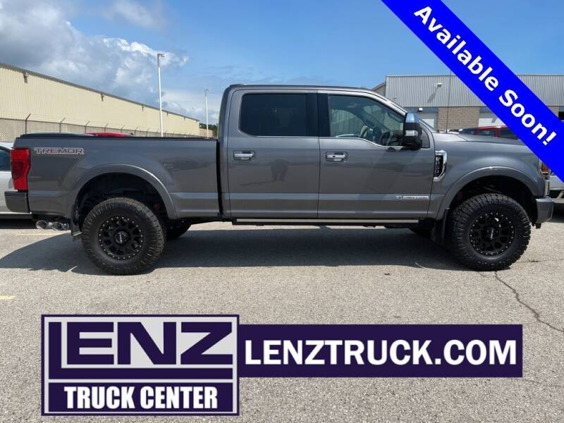 2021 Ford F-250 Super Duty for sale at LENZ TRUCK CENTER in Fond Du Lac WI