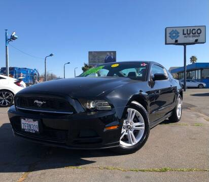 2014 Ford Mustang for sale at LUGO AUTO GROUP in Sacramento CA