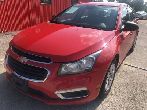 2015 Chevrolet Cruze for sale at Pary's Auto Sales in Garland TX