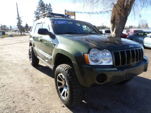 2007 Jeep Grand Cherokee for sale at VALLEY MOTORS in Kalispell MT