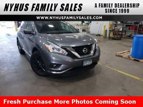 2017 Nissan Murano for sale at Nyhus Family Sales in Perham MN