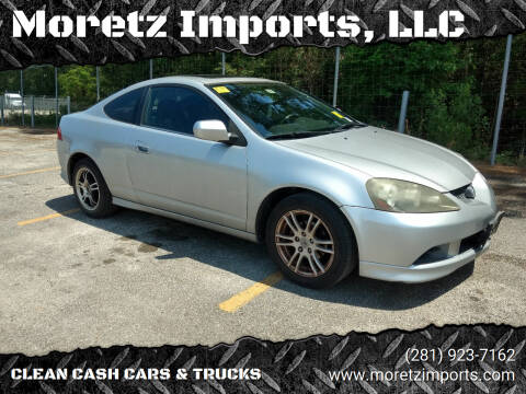 2005 Acura RSX for sale at Moretz Imports, LLC in Spring TX
