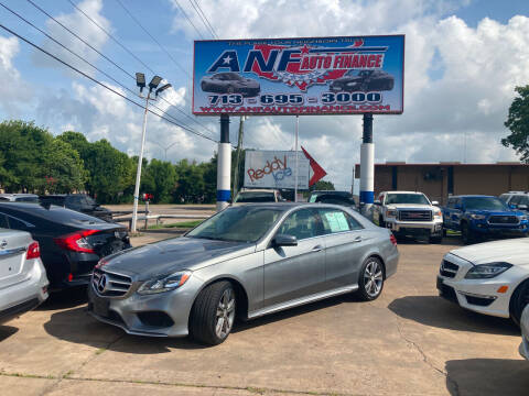 2014 Mercedes-Benz E-Class for sale at ANF AUTO FINANCE in Houston TX