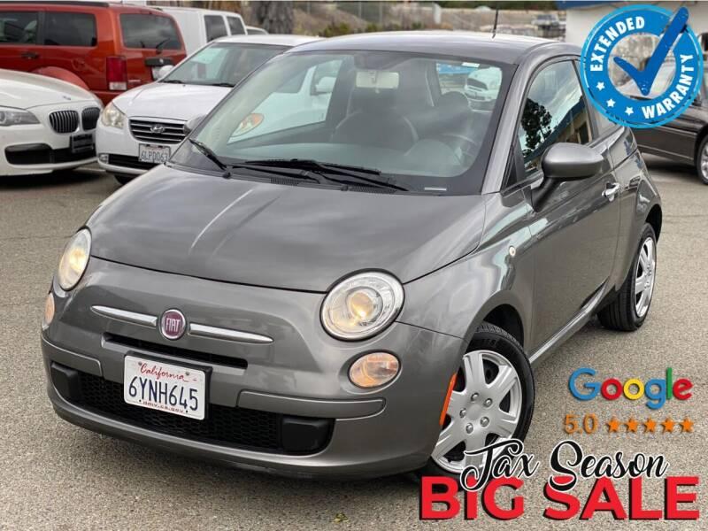 2013 FIAT 500 for sale at Gold Coast Motors in Lemon Grove CA