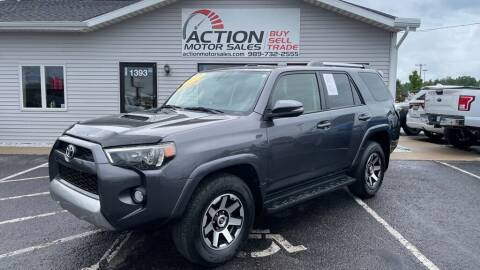 2017 Toyota 4Runner for sale at Action Motor Sales in Gaylord MI