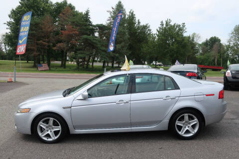 2004 Acura TL for sale at GEG Automotive in Gilbertsville PA