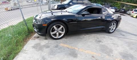 2015 Chevrolet Camaro for sale at AUTOTEX FINANCIAL in San Antonio TX