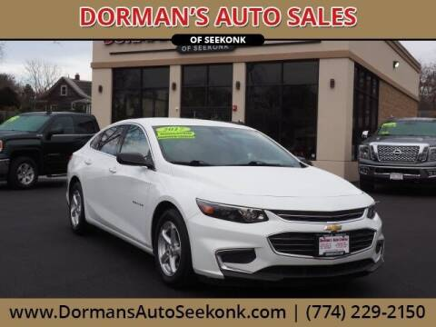 2017 Chevrolet Malibu for sale at DORMANS AUTO CENTER OF SEEKONK in Seekonk MA