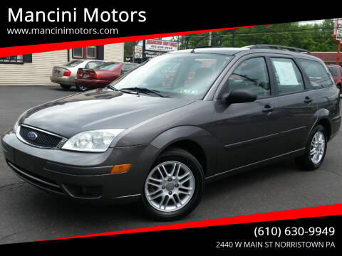2006 Ford Focus for sale at Mancini Motors in Norristown PA