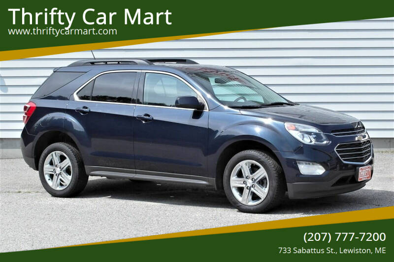 2016 Chevrolet Equinox for sale at Thrifty Car Mart in Lewiston ME