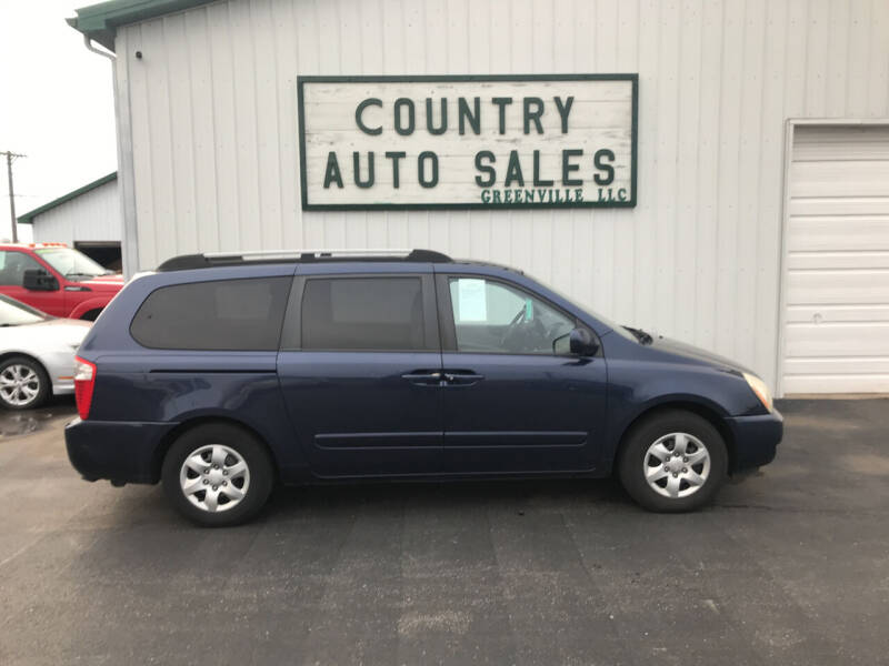 2008 Kia Sedona for sale at COUNTRY AUTO SALES LLC in Greenville OH