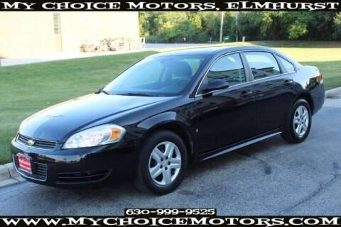 2009 Chevrolet Impala for sale at My Choice Motors Elmhurst in Elmhurst IL