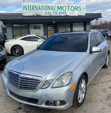 2011 Mercedes-Benz E-Class for sale at International Motors Inc. in Nashville TN
