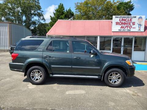 2007 Toyota Sequoia for sale at Uncle Ronnie's Auto LLC in Houma LA