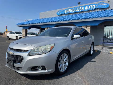 2014 Chevrolet Malibu for sale at SPEND-LESS AUTO in Kingman AZ