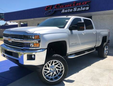 2018 Chevrolet Silverado 2500HD for sale at el camino auto sales in Gainesville GA