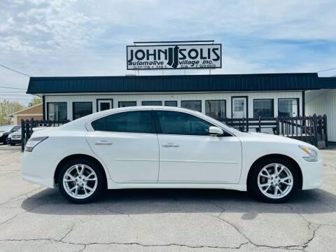 2014 Nissan Maxima for sale at John Solis Automotive Village in Idaho Falls ID