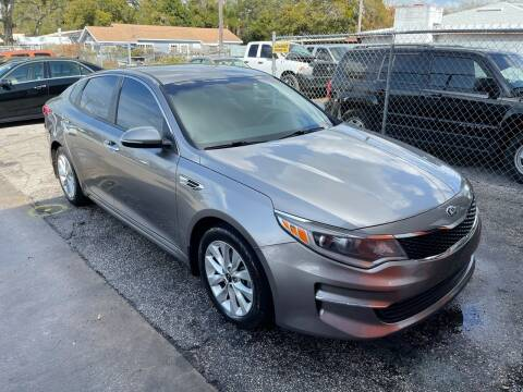 2018 Kia Optima for sale at P J Auto Trading Inc in Orlando FL